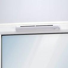 Клапан на окно EMM2 с акустическим козырьком и установкой