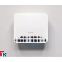 EHT2 Приточное устройство ETH1857EX, гигрорегулируемый расход воздуха 5-40 м³/ч,  для установки через стену, переключатель режимов работы, цвет белый