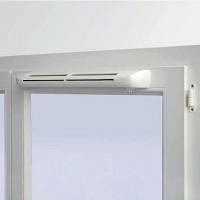 Клапан на окно EHA2 с мах. шумозащитой и  установкой (цвет белый)