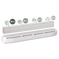 Aldes AirFILTER приточный оконный клапан с фильтрацией до 30 м³/ч (арт. 11011581)