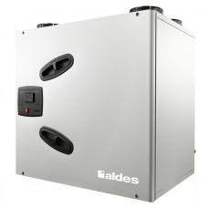 ALDES DEE FLY CUBE 550+ рекуператор пластинчатый, до 355 Вт, до 585 м³/ч + батарея предварительного нагрева + комплекты адаптации (арт. 11023275)