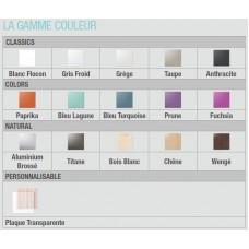 Aldes ColorLINE, Ø125 мм., прозрачная накладка, расход воздуха 45-100 м³/час (арт. 11022174)