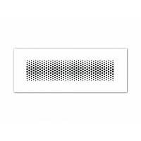 FRÄNKISCHE profi-air Решётка впуск/выпуск, сталь белого цвета 350x130 мм (арт. 78300645)