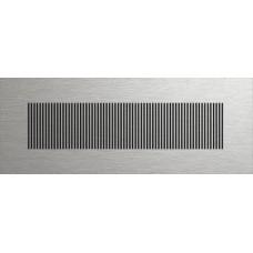 Starline LINE дизайнерская решетка profi-air ® шлифованная нержавеющая сталь (арт. 78300663)