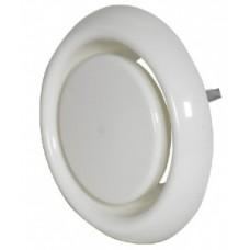 FRÄNKISCHE profi-air Диффузор впускной/выпускной, пластик белого цвета Ду 125 (арт. 78312630)