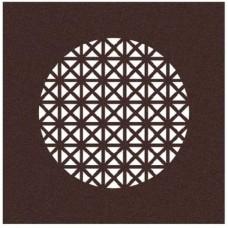Starline PYRAMID COMPACT, дизайнерская решетка profi-air ®  бронза цвета темной ржавчины (арт. 78312665)