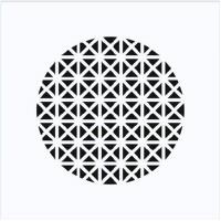 Starline PYRAMID COMPACT, дизайнерская решетка profi-air ® белая, RAL 9016 (арт. 78312664)