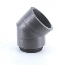 IP-B 180/45 Колено IsoPipe 45 °,с муфтой (арт. 09450)