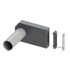 KWL 45 LE-RS Монтажный набор для установки, с решеткой для стены из нерж.стали. Гильза для стены и защитная крышка (арт. 7393)