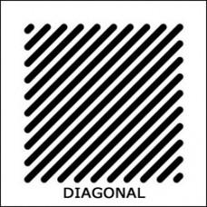 XD25-50 DIAGONAL Решетка 130 x 130 мм., Ø80 мм., про-во Бельгия (арт. 801121)