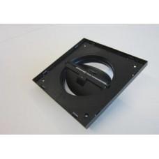 XD Рамка для решетки Ø80 - 134 x 134 мм. (с регулируемым зазором), черная, про-во Бельгия (арт. 66031624)