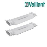 Vaillant VAZ-F52 пересечение двух плоских воздуховодов Ø 52 х 132 мм (арт. 0010024149)