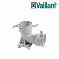 Vaillant колено на 90° с монтажным основанием для воздуховода Ø 90/75 мм. (арт. 0020180877)
