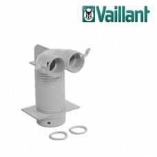 Vaillant VAZ-B75 потолочный адаптер 90° Ø125 мм. для двух воздуховодов Ø 75/62 мм. (арт. 0020176832)