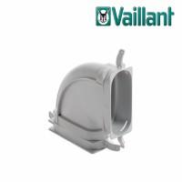Vaillant VAZ-F52 колено горизонтальное на 90° для воздуховода Ø 52 x 132 мм. (арт. 0020180838)