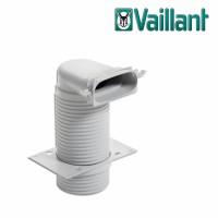 Vaillant VAZ-F52 потолочный адаптер 90° Ø125 мм. для плоского воздуховода 52х132 мм. (арт. 0020180844)