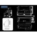 IO 125 Настенный приточно-вытяжной элемент для систем с рекуперацией тепла