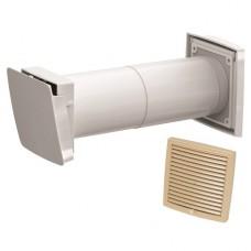 Wive 100 Приточный клапан с термостатом, фильтр, бежевая вент. решетка (арт. 380030+793321)
