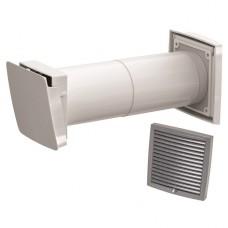 Wive 100 Приточный клапан с термостатом, фильтр, серая вент. решетка (арт. 380030+793327)