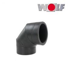 ISO-Угол DN125 90° без крепления (арт. 2576009)