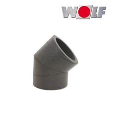 ISO-Угол DN125 45° без крепления (арт. 2576012)