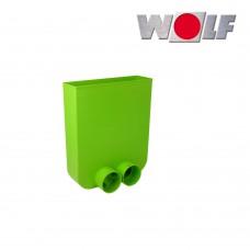 Wolf Соединитель для гибкого канала DN75/63 и напольной решётки (арт. 2577575)