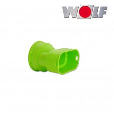 Wolf Адаптер плоского канала 50 x 100 мм. для подключения к воздухораспределителю (арт. 2577599)