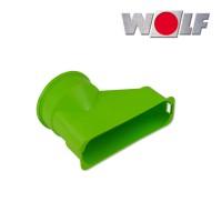 Wolf Адаптер плоского канала 50 x 140 мм. для подключения к воздухораспределителю (арт. 2577600)