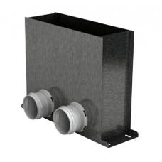 BlauFast RPF 300х100/75х2 M пленум напольный металлический