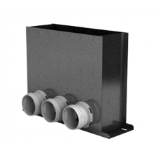 BlauFast RPF 300х100/75х3 M пленум напольный металлический