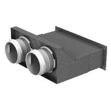 BlauFast RPW 200х55/75х2 M пленум настенный металлический