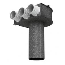 BlauFast RPZ 125/63х3 M пленум потолочный металлический