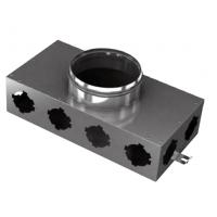 BlauFast SR 150/75x8 01 Коллектор металлический с фланцем d=65 мм