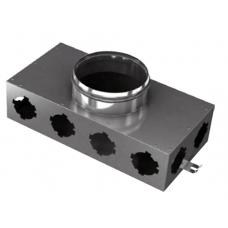 BlauFast SR 160/75x8 01 Коллектор металлический с фланцем d=65 мм
