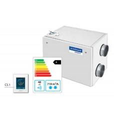 Domekt-R-700-H-HE Горизонтальная приточно-вытяжная установка с автоматикой C6.1