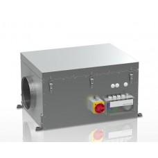 VCZ1085 Центральный вентилятор для жилых и общественных зданий, расход воздуха 1000 м³/ч при 100 Па, макс. мощность 168 Вт, 230V