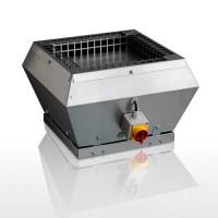 VTZ 1075 Крышный вентилятор для жилых и общественных зданий,  расход воздуха 500 м³/ч при 100 Па, макс. мощность 83 Вт, 230 V