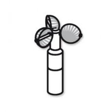 AVE 347 Измеритель скорости ветра для VBP ms
