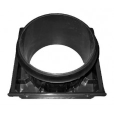 AVE055 Входной патрубок Ø125мм для вентилятора V4A