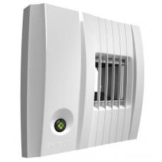 BXC401 вытяжное устройство с фиксированным расходом воздуха 12-80/130 м³/ч, пиковый расход воздуха от датчика СО², соединение Ø100 мм., 3V DC