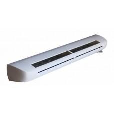 EAR 201 (EHA²) Aereco приточный клапан на окно с щумопоглащением гигрорегулируемый расход воздуха  5-35 м³/ч, цвет по RAL 9003 (белый)