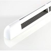 EHM 1277 Приточный оконный клапан, гигрорегулируемый расход воздуха 11-35 м³/ч, цвет по RAL 9003 (белый)