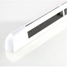 EHM1282 (EMM2) Aereco комплект приточного оконного клапана и наружного козырька: EНM 1276 + AEA 731, цвет по RAL 9003 (белый)