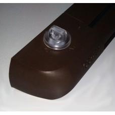 EHM1273 (EMM2) Приточный оконный клапан, гигрорегулируемый расход воздуха 5-35 м³/ч, переключатель режимов работы, цвет по RAL 8017 (тик)
