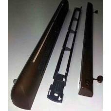 KEHM 83 Комплект ЕНМ 1283 + АЕА 1337: Приточное оконное устройство EМM², гигрорегулируемый расход воздуха 22-45 м³/ч, цвет по RAL 8017 (тик)