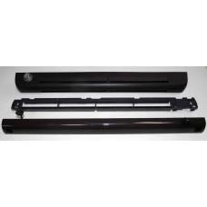 EHM 1284 Приточный оконный клапан, гигрорегулируемый расход воздуха 11-35 м³/ч, цвет по RAL 8017 (тик)