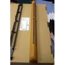 EHM1281 (EMM2) Aereco комплект приточного клапана на окно и наружного козырька : EНM 1279 + AEA 827, цвет по RAL 8001 (дуб)