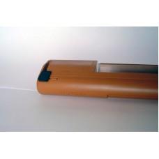 EMM 975 Приточный клапан, гигрорегулируемый расход воздуха 11-35 м³/ч,  для оконных конструкций, цвет по RAL 8001 (дуб)