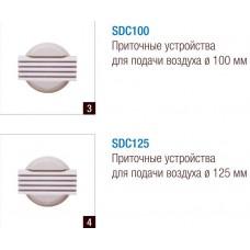 SDC 1108 Приточное устройство для подачи воздуха Ø125 мм