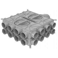 Wolf Воздухораспределитель DN125-180 24 подключения DN75 4 колпака (арт. 2577597)